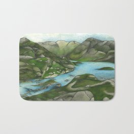 The Scottish Highlands Bath Mat