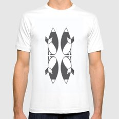 foxy reflected Mens Fitted Tee MEDIUM White