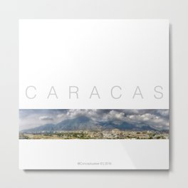 East CARACAS West Metal Print