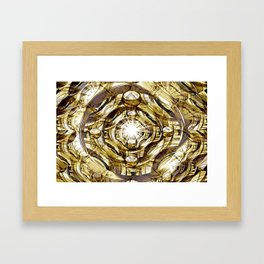 In Hadron Collider. Framed Art Print