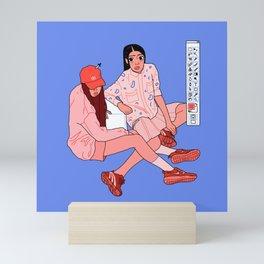 Colour pick Mini Art Print