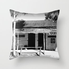 Butcher or Barber Throw Pillow