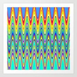 Brainwaves.... Art Print