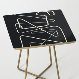 Movements Black Side Table