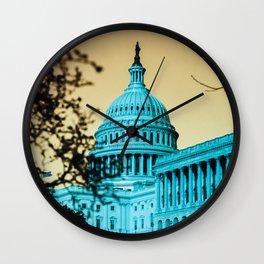 Dystopian DC Wall Clock