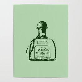 Patron Tequila Pop Art Poster