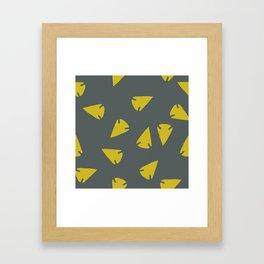 ARROWHEADS-CITRUS Framed Art Print
