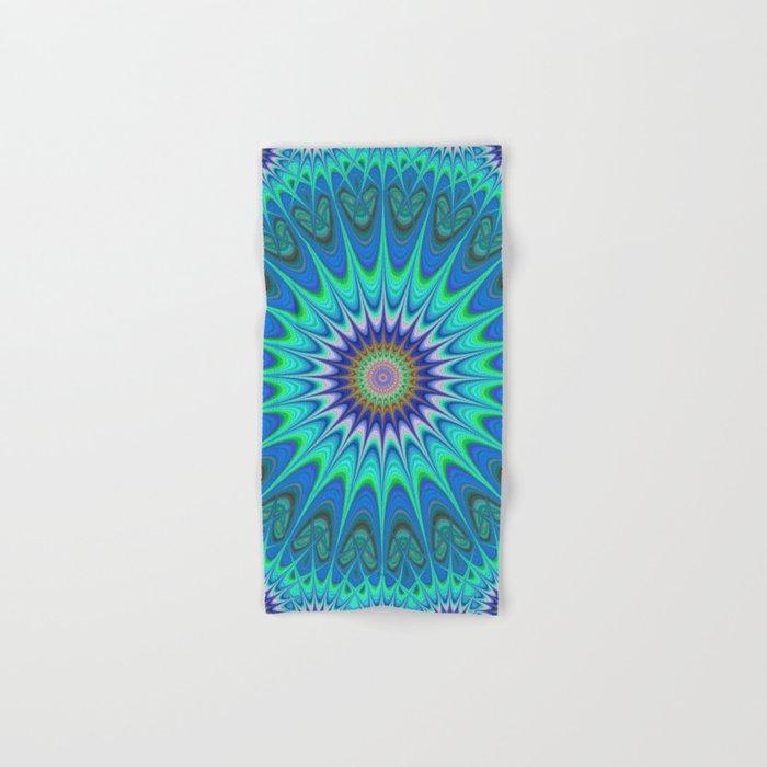 Cool mandala Hand & Bath Towel