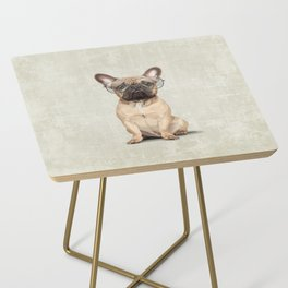 Mr French Bulldog Side Table