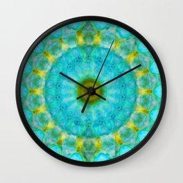 Sacred Voice - Mandala Art By Sharon Cummings Wall Clock