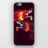 zuko iPhone & iPod Skins featuring Original Bending Masters Series: Ran and Shaw by miss-meza