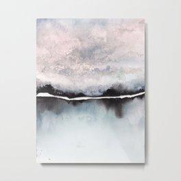 Ice lake Metal Print