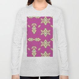 Jewelbox: Citrine Brooch on Dark Lipstick Long Sleeve T-shirt