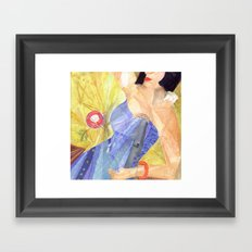 Blues Singer Framed Art Print