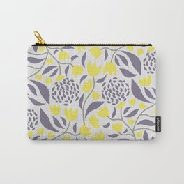 Yellow flowers field Carry-All Pouch