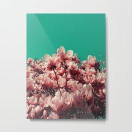 Coral pink Metal Print