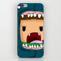 monster iPhone & iPod Skins featuring monster by jeff'walker