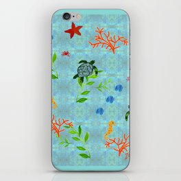 zakiaz enchanted sea iPhone Skin