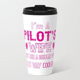 Pilot's Wife Travel Mug