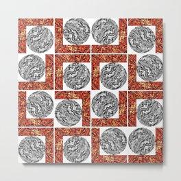 Maze of Mazes Metal Print