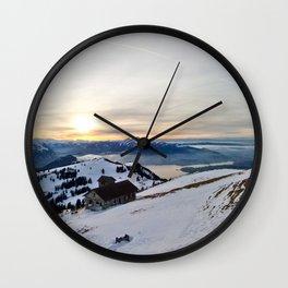 Mount Rigi Wall Clock