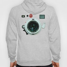 Retro vintage leather camera Hoody