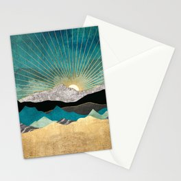 Peacock Vista Stationery Cards