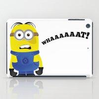 minion iPad Cases featuring Minion by Bekka-Kate