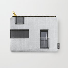 WHITE CONCRETE BUILDING-6 Carry-All Pouch