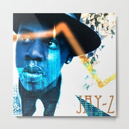 Jay-Z The Heart of the City Metal Print