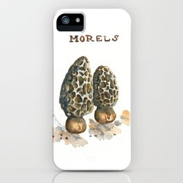 Morels iPhone Case