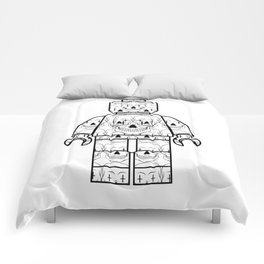 Skull-Brick Comforters