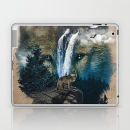 Calm of the Wolf Laptop & iPad Skin