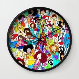 Woodstock69 Wall Clock