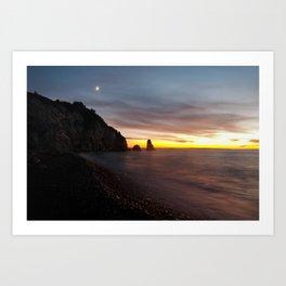 Cheticamp Sunset Art Print