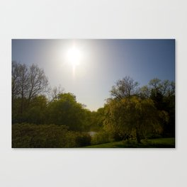 Sunny Day at the Estate Canvas Print