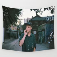 mac Wall Tapestries featuring Mac Demarco by Jon Rast