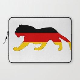 German Flag - Tiger Laptop Sleeve