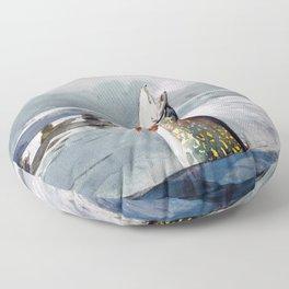 Pike, Lake St. John - Digital Remastered Edition Floor Pillow