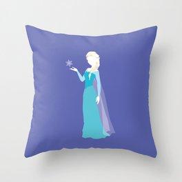 Elsa from Frozen Throw Pillow