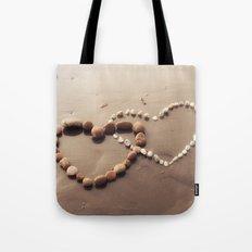 Stone Hearts Tote Bag
