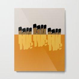 Modern minimal 02 Metal Print