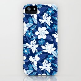 Jazmín Blue iPhone Case