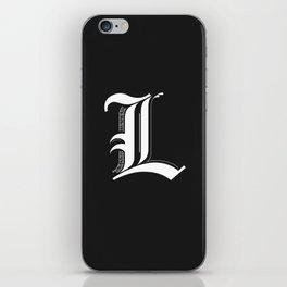 Letter L iPhone Skin