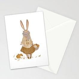 Autumn Bunny Stationery Cards