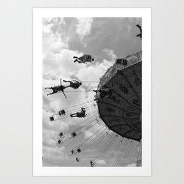 Swings (vertical) Art Print