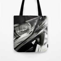 honda Tote Bags featuring Honda CBR 125 Motorcycle by Simon's Photography