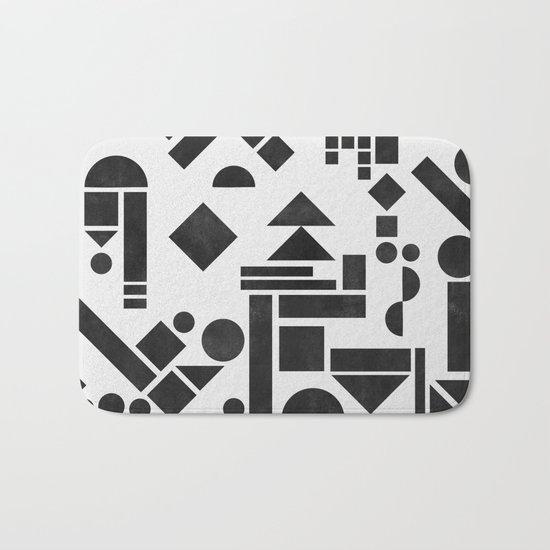 Geometry 1 Bath Mat