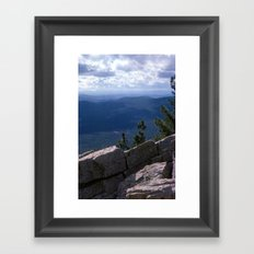 Canyons Framed Art Print