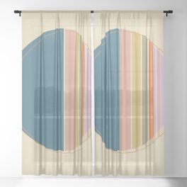 Modern Sheer Curtain